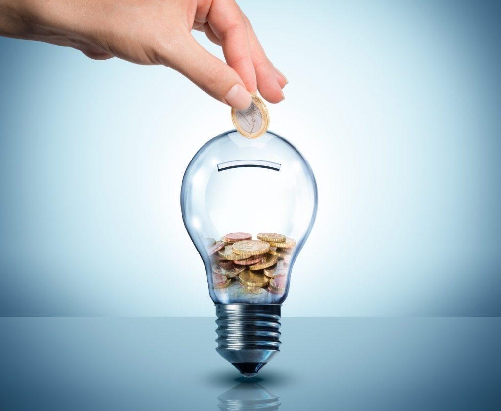 Economia de energia elétrica em lojas