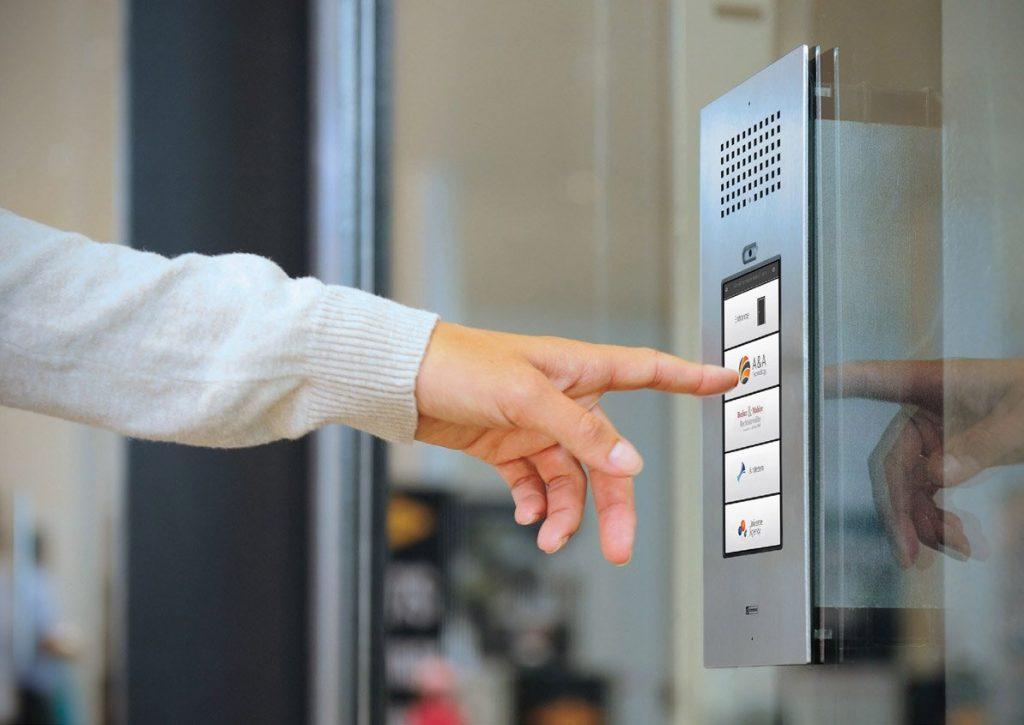 Controle de acesso portas automáticas